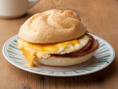 Pork Roll Sandwich with Egg & Cheese : Recipes : Cooking Channel-State Favorite Foods Other Recipes, Great Recipes, Favorite Recipes, Breakfast Meat, Breakfast Recipes, Healthiest Breakfast, Cheese Recipes, Cooking Recipes, Pork Recipes