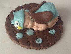 OWL CAKE TOPPER Baby Shower Decorations First by EdibleSugarArt, $25.00
