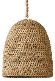 Jurupa Pendant Rustic Folk, Natural Material, Pendant by Curated Kravet First Art, Contemporary Furniture, Pendant Lighting, Light Fixtures, Branding Design, Crochet Hats, House Design, Ceiling Lights, Rustic