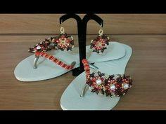 previa da sandália bordada com pérolas RAINHA DO MAR - YouTube