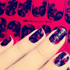 I am your muse NCLA nail wraps! www.shopncla.com