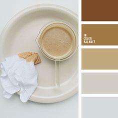 Цветовая палитра №4221 Shades Of Beige, Beige Color, Neutral Colors, Silver Color, Colour Schemes, Color Combinations, Colour Palettes, Color Balance, Color Card