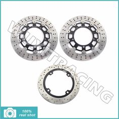 272.58$  Buy now - http://alizn3.shopchina.info/go.php?t=32810148138 - 3pcs Motorcycle Full Set New Front Rear Brake Discs Rotors for SUZUKI DL 650 DL650 V-Storm / ABS 2007 2008 2009 2010 2011 2012   #buyonlinewebsite