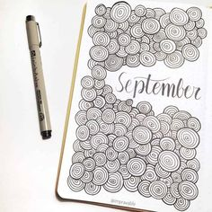 We have put together a selection of 51 repetitive Patterned bullet journal themes to keep a busy mind active and a create mindfulness and calm when creating gorgeous pages! Bullet Journal Birthday Tracker, March Bullet Journal, Bullet Journal Cover Page, Bullet Journal Notebook, Journal Covers, Bullet Journal Inspiration, Journal Pages, Notebook Art, Journal Themes