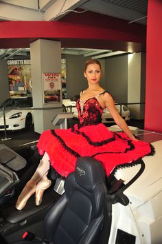Answer this and win big! Who was Zora Arkus-Duntov's muse for designing the Corvette? www.nutcracker.com/enter-to-win