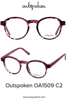 OUTSPOKEN OA1509 C2 Eyewear, Glasses, Easy, Handmade, Eyeglasses, Eyeglasses, Hand Made, General Eyewear, Sunglasses
