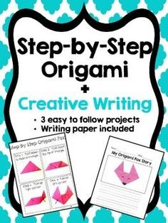 Step-by-Step Origami combined with creative writing! This activity is a perfect motivator for gettin Critical Thinking Activities, All About Me Activities, Back To School Activities, Writing Activities, School Ideas, Creative Writing, Creative Teaching, Language Arts Worksheets, Procedural Writing