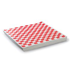 48 Red and White Checker Sandwich Wrap for summer country weddings, 4th of July parties, picnics and parties