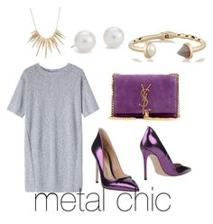 """""""metal chic"""" by carole-weis on Polyvore"""