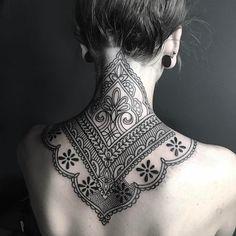 Ellemental Tattoos ornamental mandala tattoo #beautytatoos
