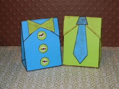 Father's Day Gift Boxes by Leandie1984 - Cards and Paper Crafts at Splitcoaststampers
