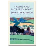 John Betjeman was broadcasting to a war-time audience, and had in fact been asked to talk about how paper rationing was affecting publishing and reading habits. The text of the broadcast can be found in the book pictured here: Trains and buttered toast.