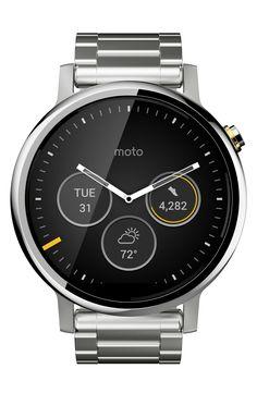 Motorola 'Moto 360 2nd Gen' Bracelet Smart Watch, 46mm