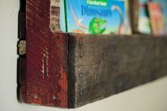 Recycled Wood Pallet Shelving