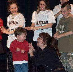 Trix Bruce - American Sign Language Performance / Storytelling