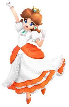 Princesa Daisy, Princesa Peach, Mario Bros., Mario And Luigi, Super Smash Bros, Super Mario Bros, Donkey Kong, Character Portraits, Nintendo Games