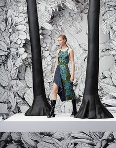 News - Shotopop Gives Context to Nordstrom Open Toe Boots, Jacquard Dress, Illustrations, 3.1 Phillip Lim, Nordstrom Dresses, Studio, Personal Style, My Style, Artist