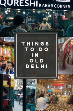 Planning a trip to Old Delhi is essential if you are travelling to India. Old Delhi needs to be experienced. From the markets, to the mughlai food, to the forts and masjids. If you haven't been to Old Delhi, you haven't really seen India. Delhi Market, The Places Youll Go, Places To Visit, Stuff To Do, Things To Do, Road Trip Hacks, Backpacking Tips, Delhi India, Forts