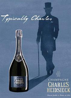 Charles Heidsieck - Typically Charles...