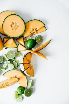 Cantaloupe and Cardamom Granita