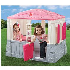 Step2 Neat and Tidy Cottage, Pink  Just a thought -- not enough on the inside i think she would prob be bored - but still an option - i could buy things to put on the inside to customize it for her :)