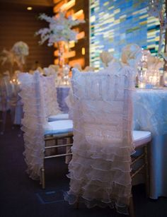 Pretting chair cover     Photography by Kelly Brown Weddings