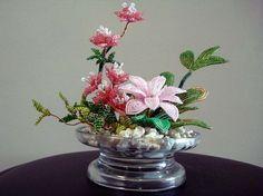 Beaded+Plant++Pink+by+artofbeads