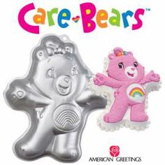 This is the pan I used for Kayla's party cake.  It can be made into any of the bears...modern version.  Worked great!