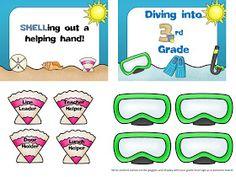 Diary of a Not So Wimpy Teacher: Beach Theme Classroom!