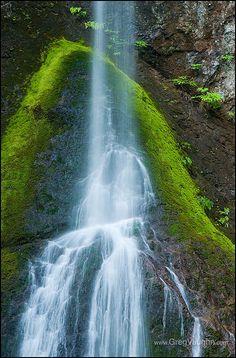 Marymere Falls, Olympic National Park, Washington - photo by Greg Vaughn, via Flickr