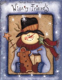 Christmas Wintry friends - Crista Seibal - Picasa Web Albums...FREE BOOK!!
