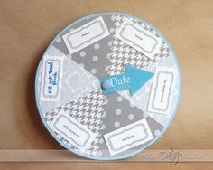 The date wheel...cute idea!