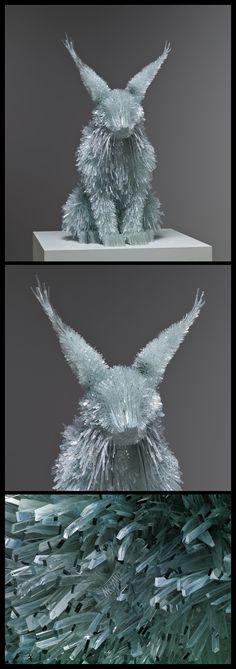 Shattered Glass Animals by Marta Klonowska