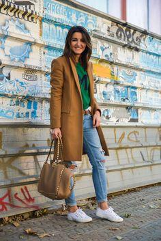 comfy look, Zara coat, superga sneakers