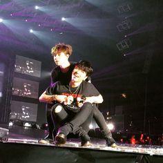 160507 Jinhwan & Junhoe @ SHOWTIME TOUR - Hong Kong © _WINNIKONIC | DO NOT edit.