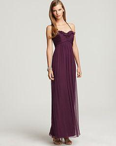 Amsale purple