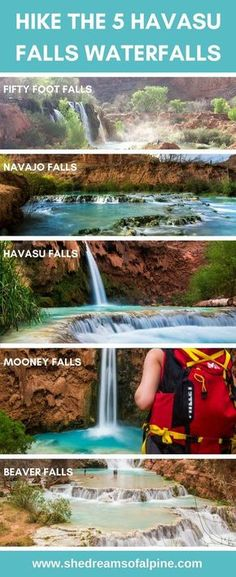 The 5 amazing waterfalls of havasu canyon pinterest indian your complete guide to hiking havasu falls in 2018 trail details camping permits weather photography and more fandeluxe Image collections