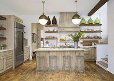 Pecky Cypress Finishes   - CountryLiving.com