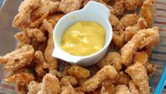 Escalopinho de frango crocante