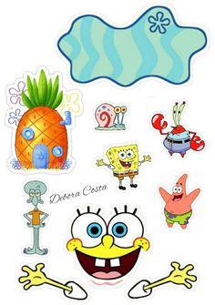 Doll Birthday Cake, Spongebob Birthday Party, Batman Birthday, Cute Cartoon Wallpapers, Cute Cartoon Images, Sunflower Birthday Cakes, Theme Mickey, Cartoon Caracters, Princess Cake Toppers
