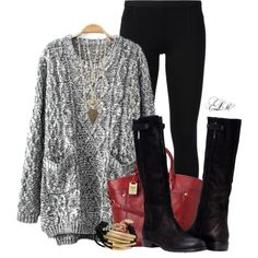 So Ready For Cozy Sweaters & Boots!