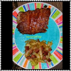 Ribs & Cabbage w Sausage