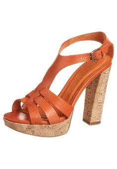 Mai Piu Senza - Højhælede sandaletter / Højhælede sandaler - orange