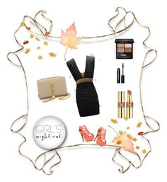 """281"" by agateczka1987 on Polyvore featuring beauty, Yves Saint Laurent, Gucci, Bobbi Brown Cosmetics and GNO"