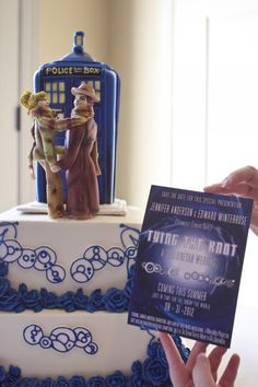 Doctor Who Invitations