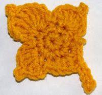 Crochet Maple Leaf Chart