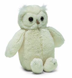 "Jellycat Woodland Babe Cream Owl 12"""""