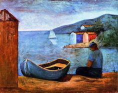 Blue boat is one of artworks by Carlo Carra. Artwork analysis, large resolution images, user comments, interesting facts and much more. Italian Painters, Italian Artist, Art Plage, Italian Futurism, Modern Art, Contemporary Art, A Kind Of Magic, Social Art, Blue Boat