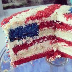 American Flag Cake - Allrecipes.com