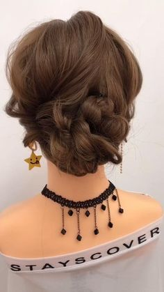 Easy Hairstyles For Long Hair, Up Hairstyles, Hairstyle For Women, Ideas For Short Hair, Updos For Thin Hair, Wedding Hair For Short Hair, Short Hair Wedding Styles, Wedding Hairstyles For Short Hair, Girls With Short Hair